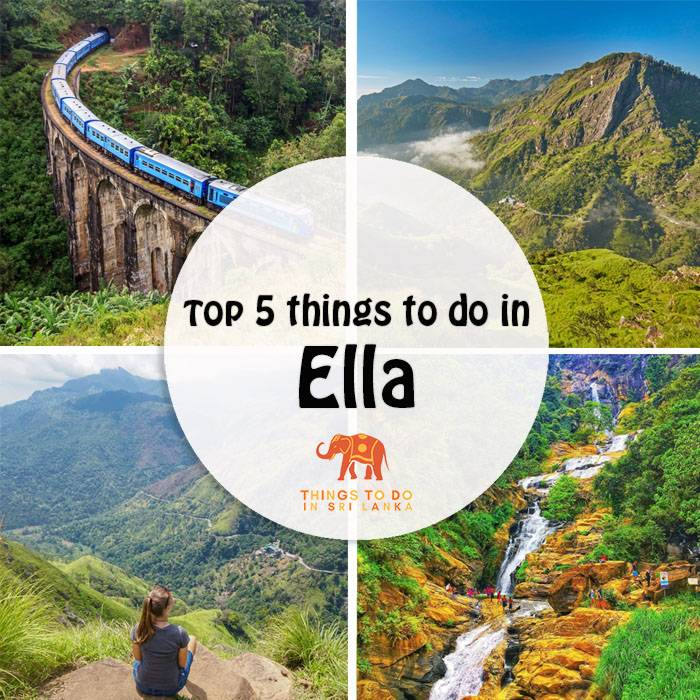 best places to see and things to do in Ella town sri lanka
