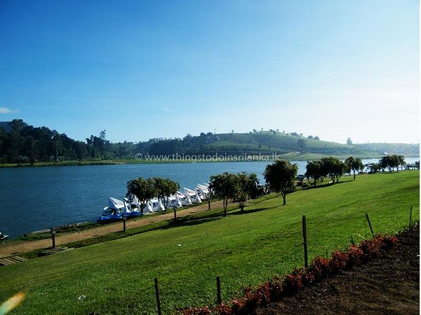 gregory lake in nuwara eliya