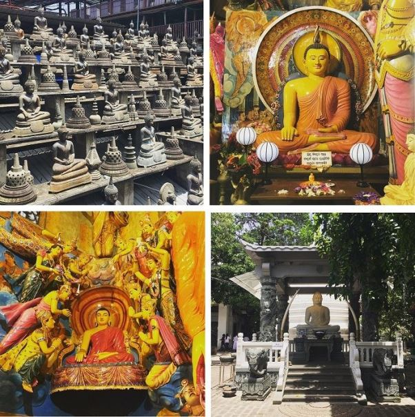 features of gangaramaya temple colombo