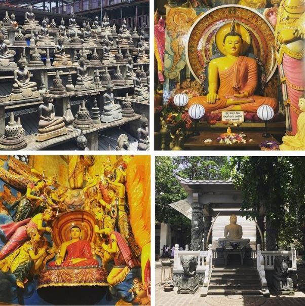 features of gangaramaya temple colombo