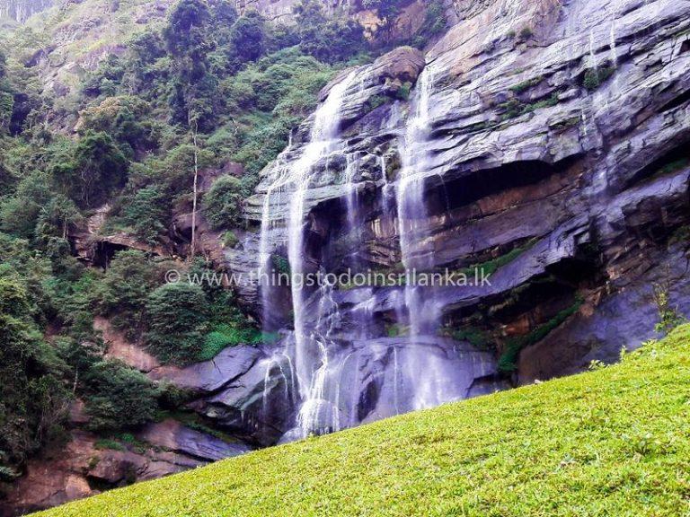 Bomburu Ella Waterfall Nuwara Eliya