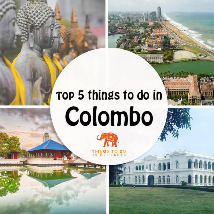 5 things to and places to visit in colombo sri lanka