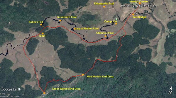 world's end trail map
