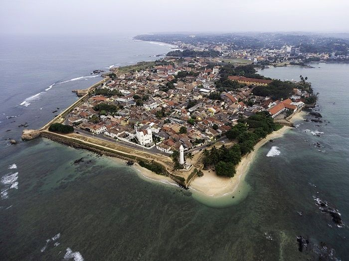 galle fort and habour
