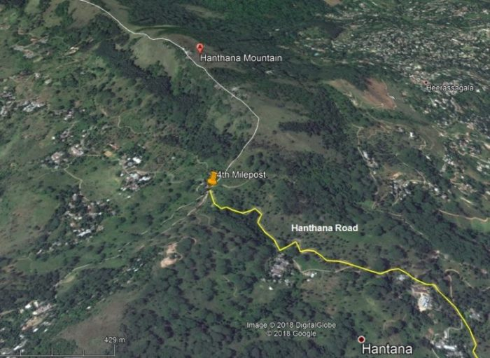 hanthana trail map
