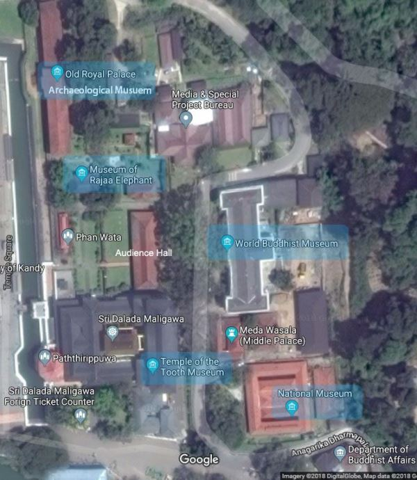 kandy museums locations
