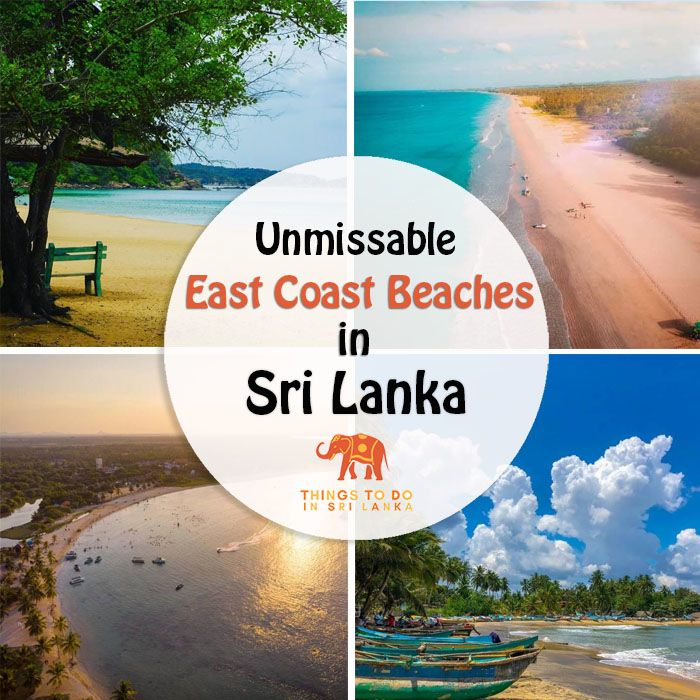 5 Unique East Coast Beaches in Sri Lanka