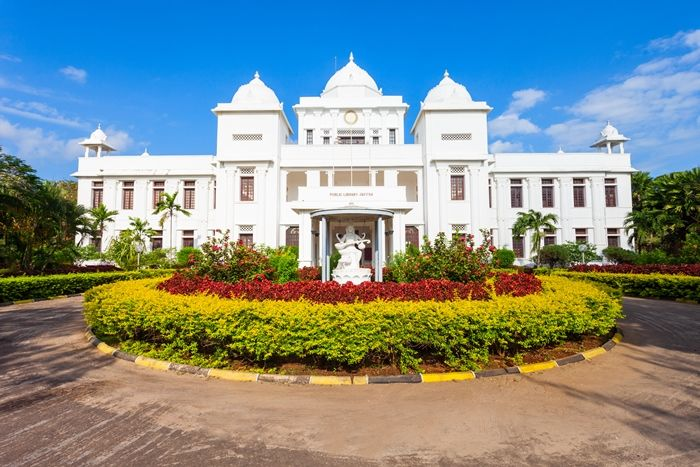 public library building of jaffna