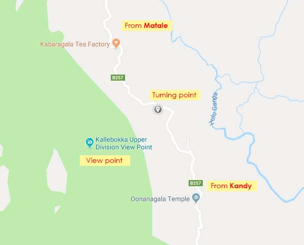 location of kallebokka view point