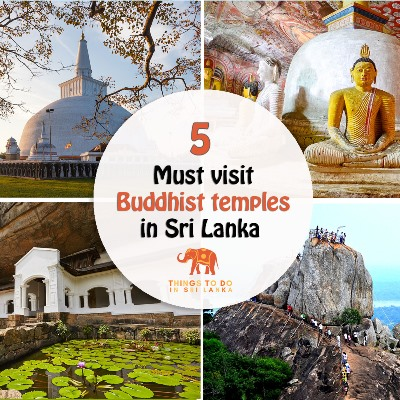 5 well-known Buddhist temples in Sri Lanka