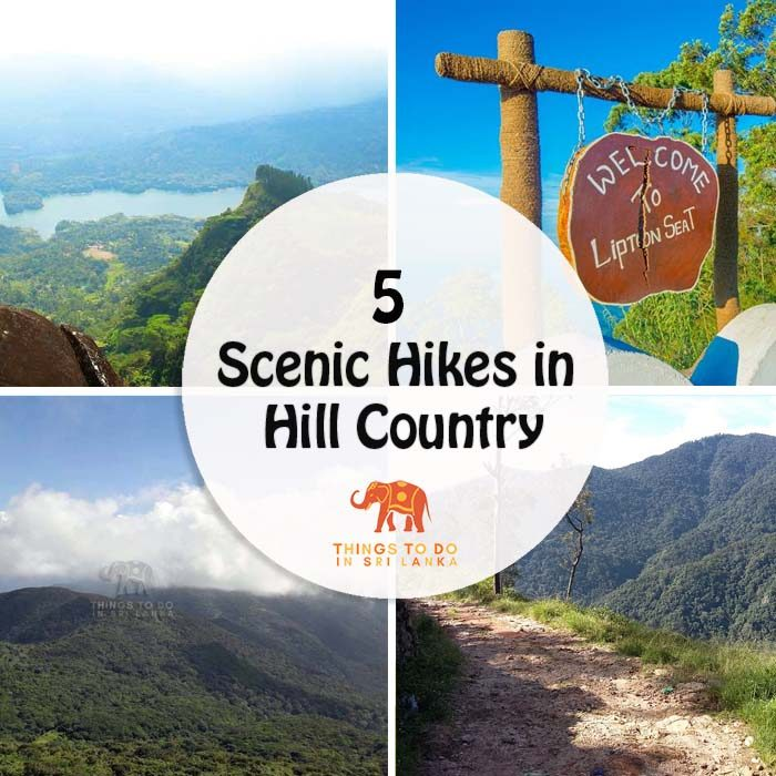 5 scenic hiking trails in hill country Sri Lanka