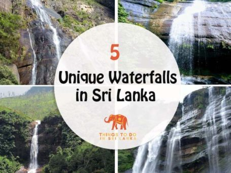 5 unique waterfalls in sri lanka banner