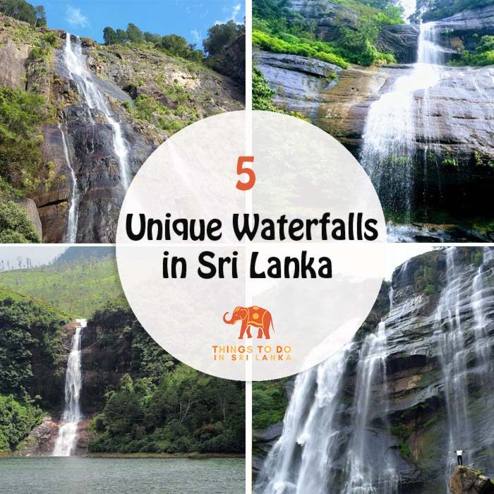 5 Unique Waterfalls in Sri Lanka