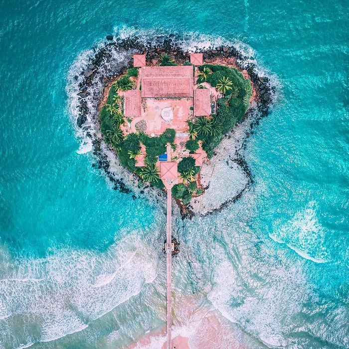 Pigeon Island Temple