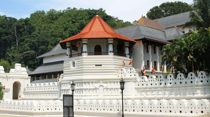 1. The Temple of the Sacred Tooth Relic