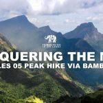 Conquering the mist - Knuckles 05 peak hike via Bambarella